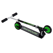 Load image into Gallery viewer, HOMCOM Adjustable Aluminium Kids Scooter-Green