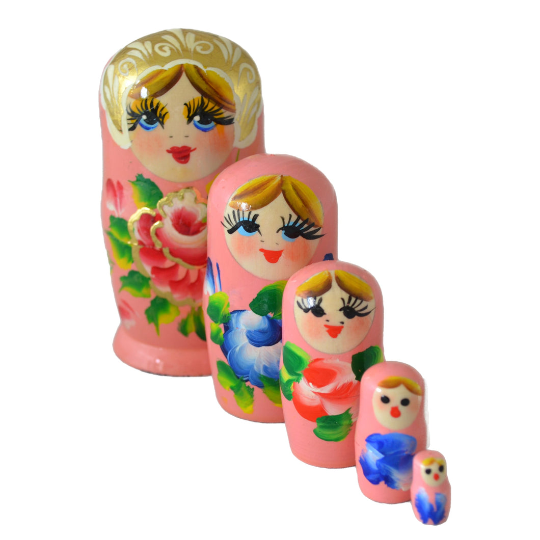 Gold Leaf Exclusive Matryoshka Collection