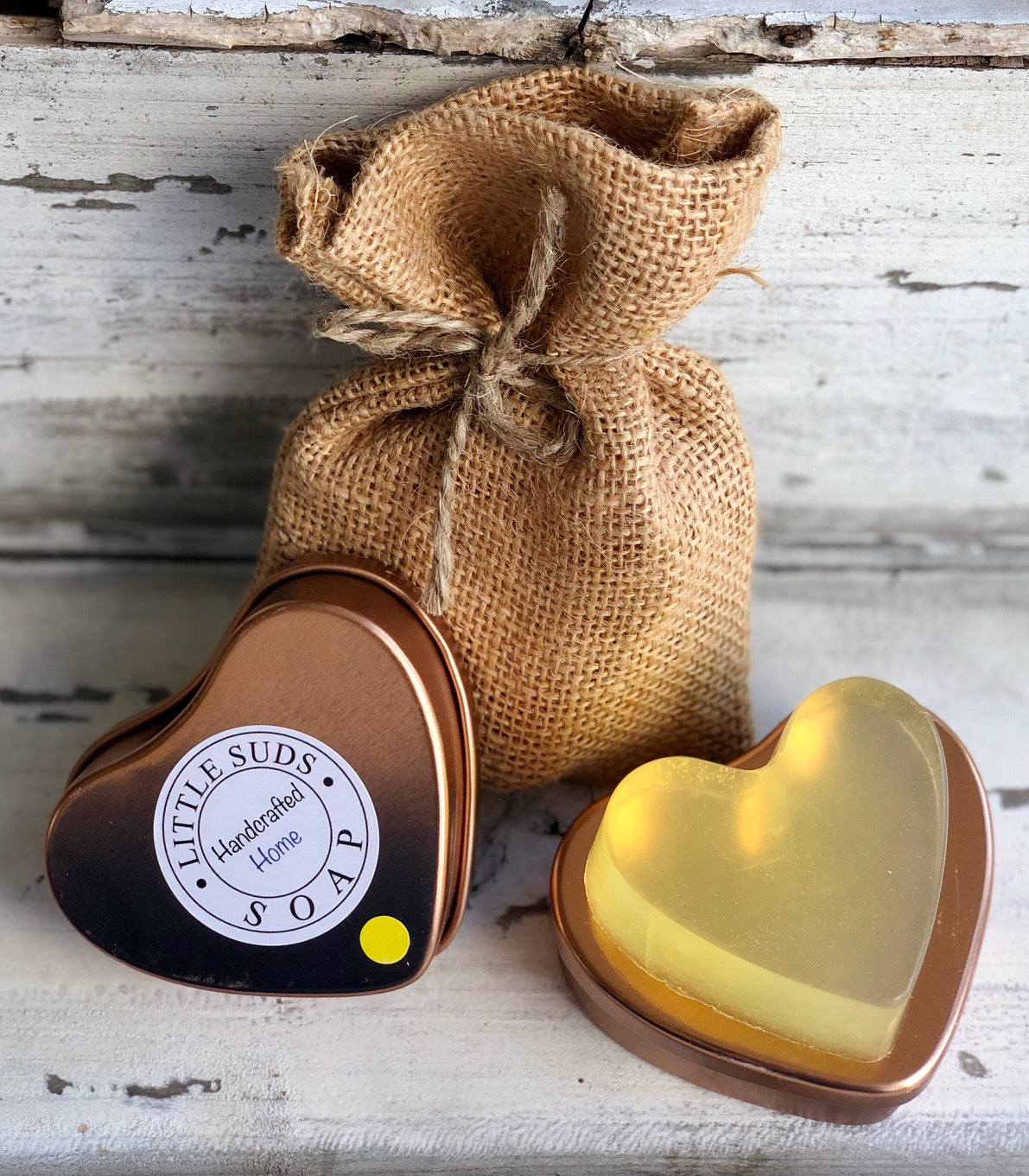 Lemon Fresh Big Heart Soap