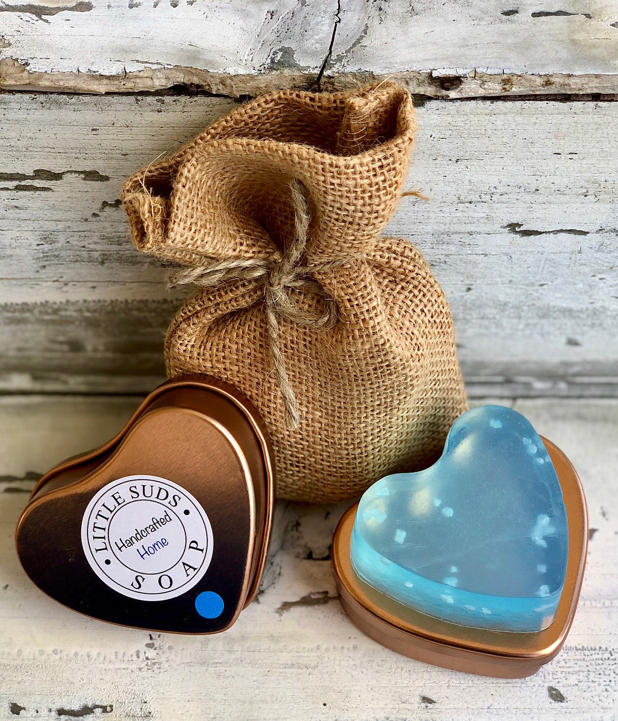 Feeling Beachy Big Heart Soap