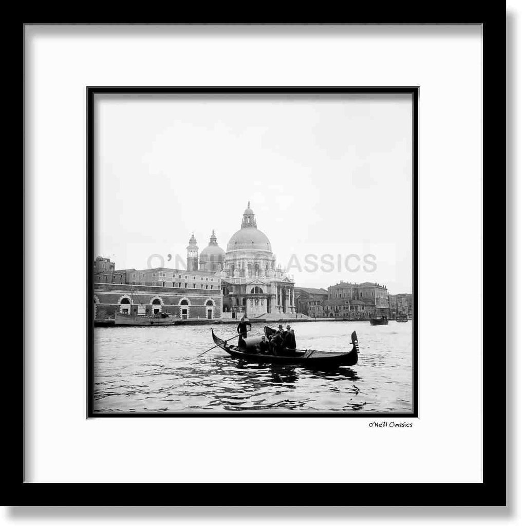 Venice 1947 - Framed B&W photograph