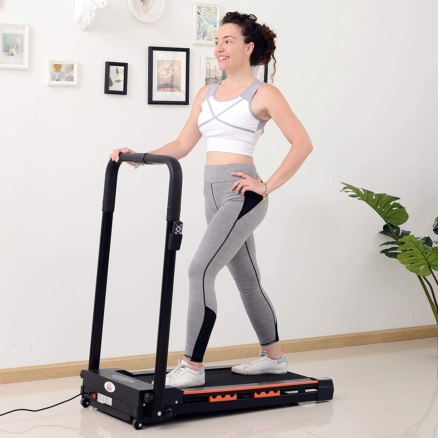 HOMCOM Electric Motorized Treadmill