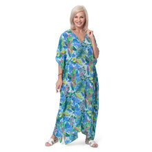 Load image into Gallery viewer, East Castara Print Kaftan Dress