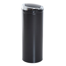 Load image into Gallery viewer, HOMCOM 50L Stainless Steel Sensor Trash Can W/ Bucket-Black