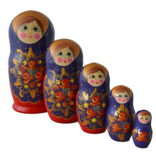 Load image into Gallery viewer, 5 Piece Large Matryoshka Dolls