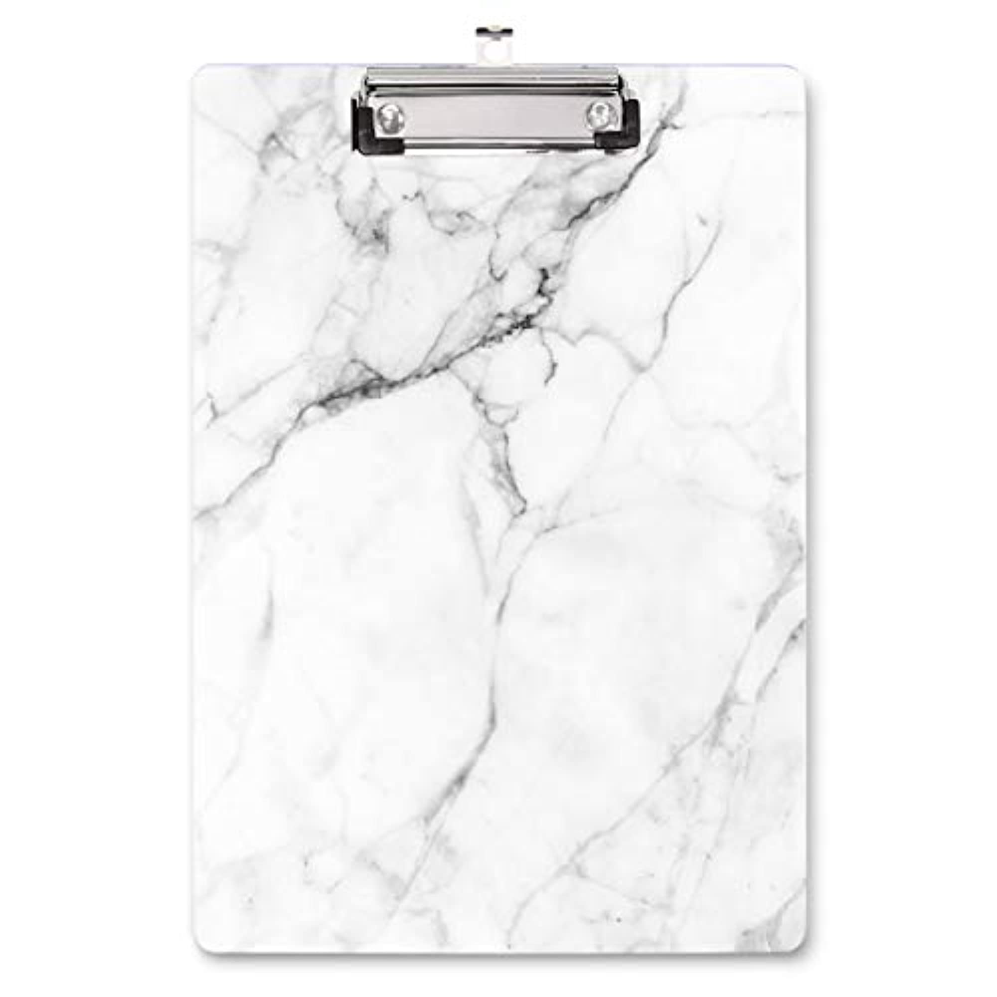 Golden Marble Pattern Clipboard For School & Office Use