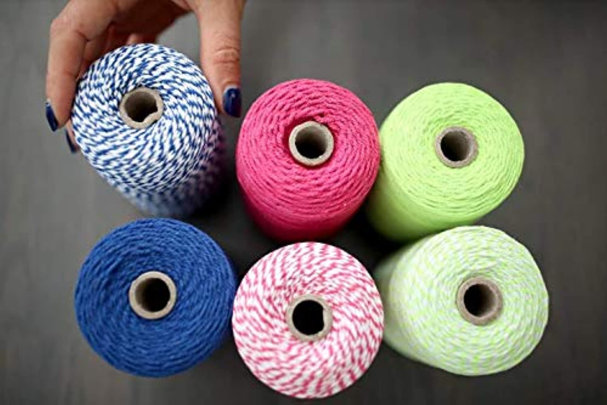 Cotton Twine String For Crafts