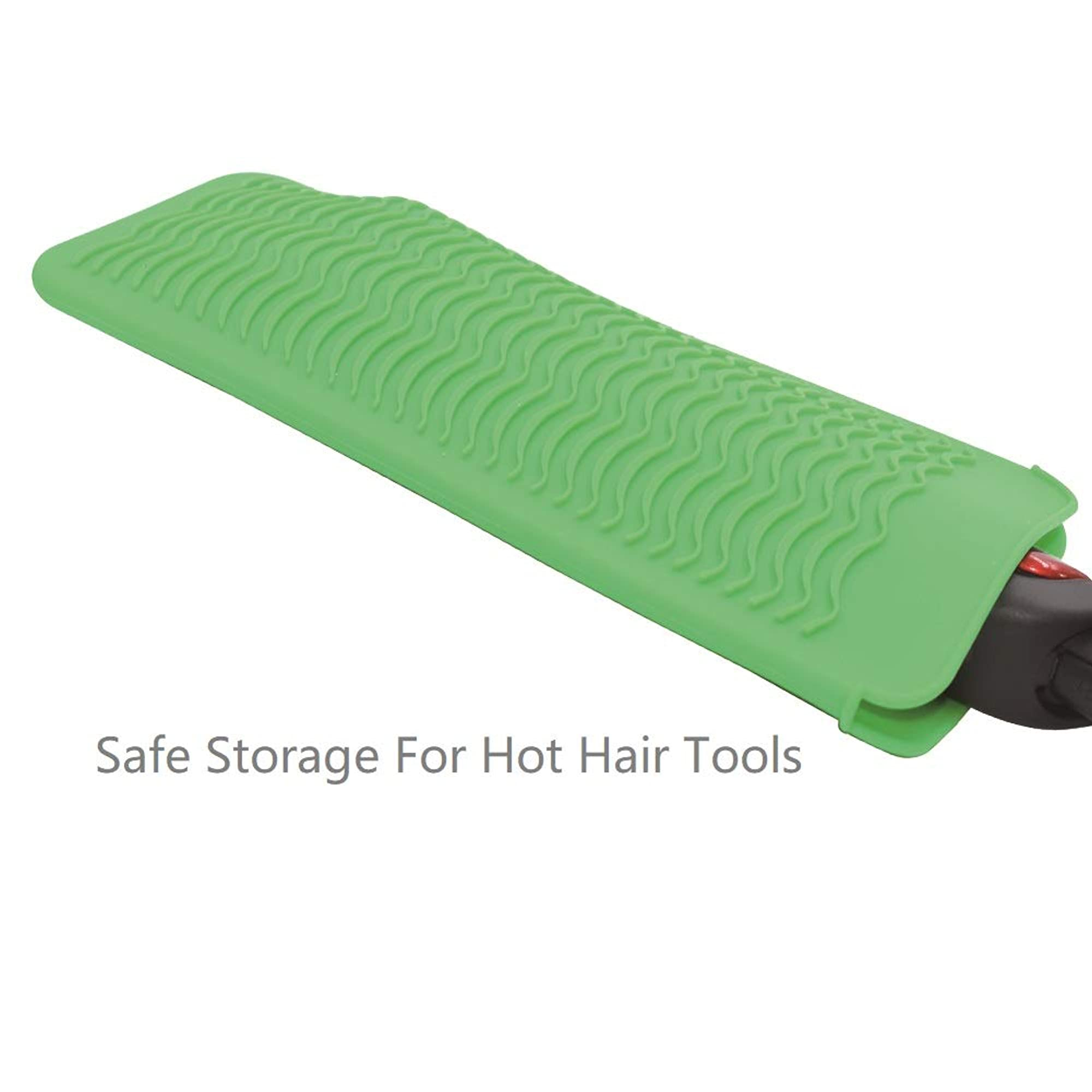 Silicone Mat Pouch For Curling Flat Iron