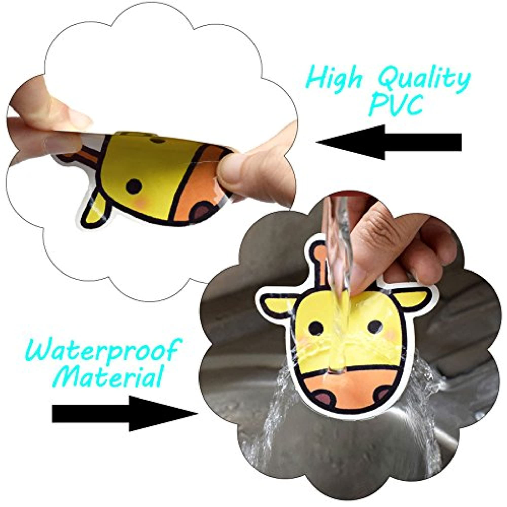 Waterproof, Thick, And Durable Vinyl Stickers.