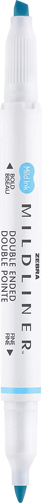 Zebra Double End Peen & Highlighter