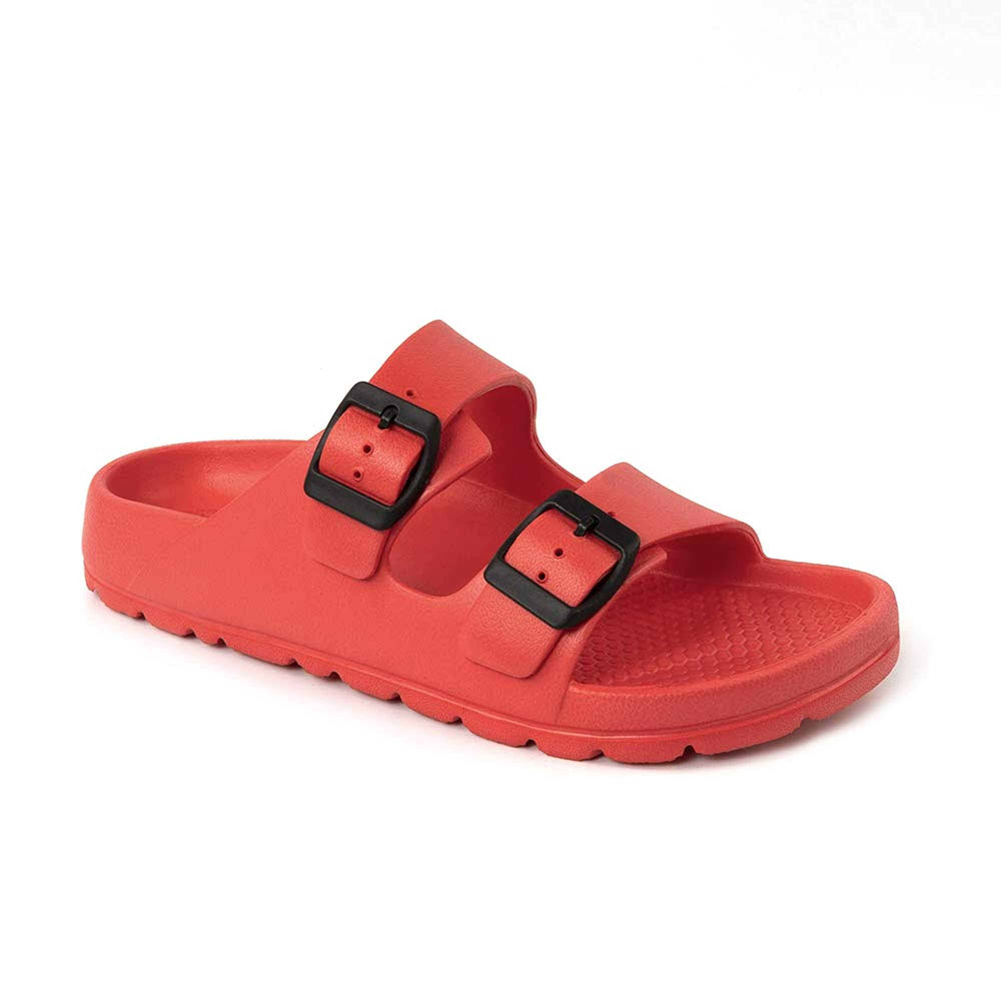 Footbed Sandals With Adjustable Slip