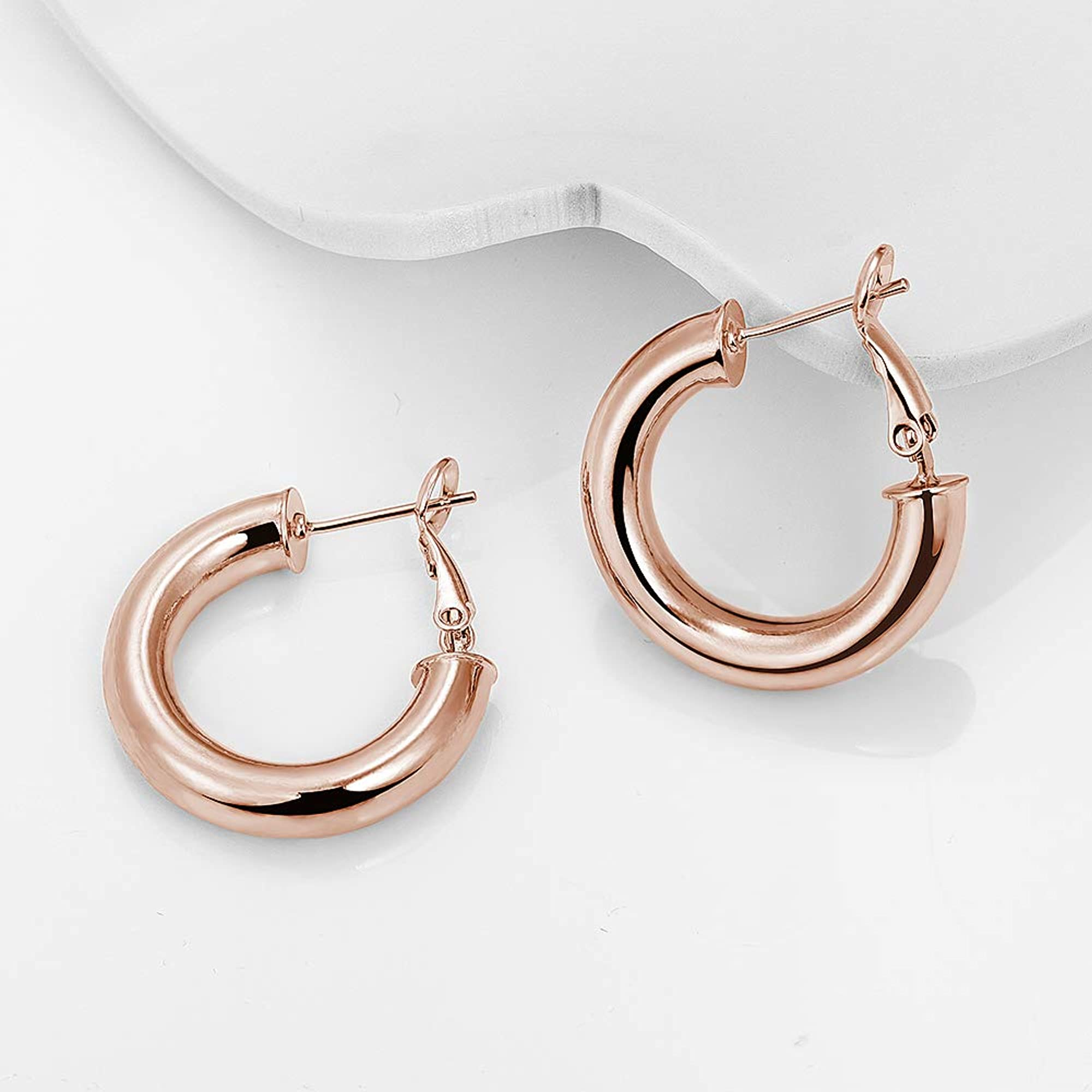 Thick Hoop Earrings For Women