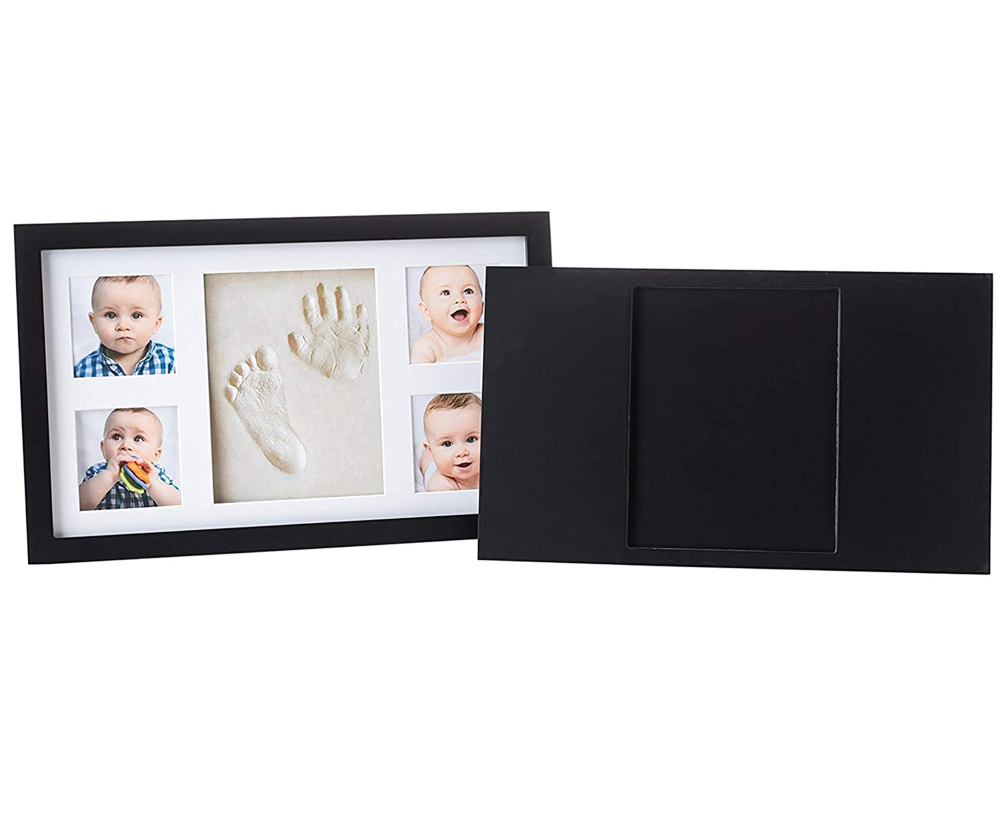 Baby'S Hand And Footprint Casting Kit With Keepsake Frame