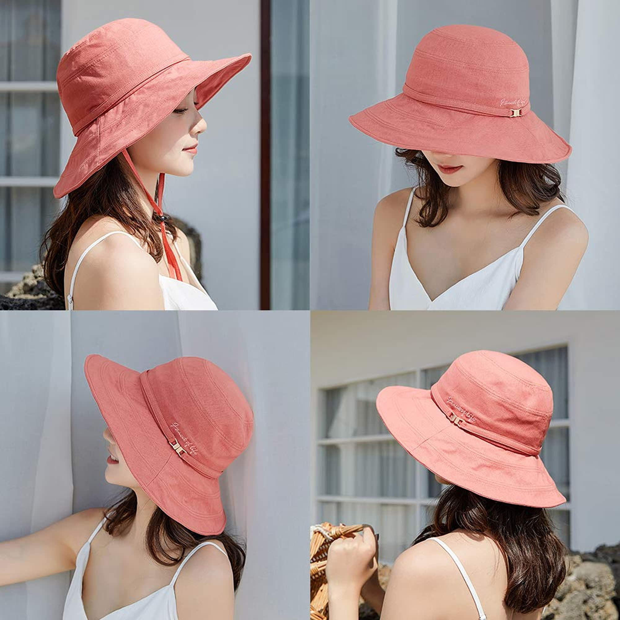 Round Summer Sun Hats For Women