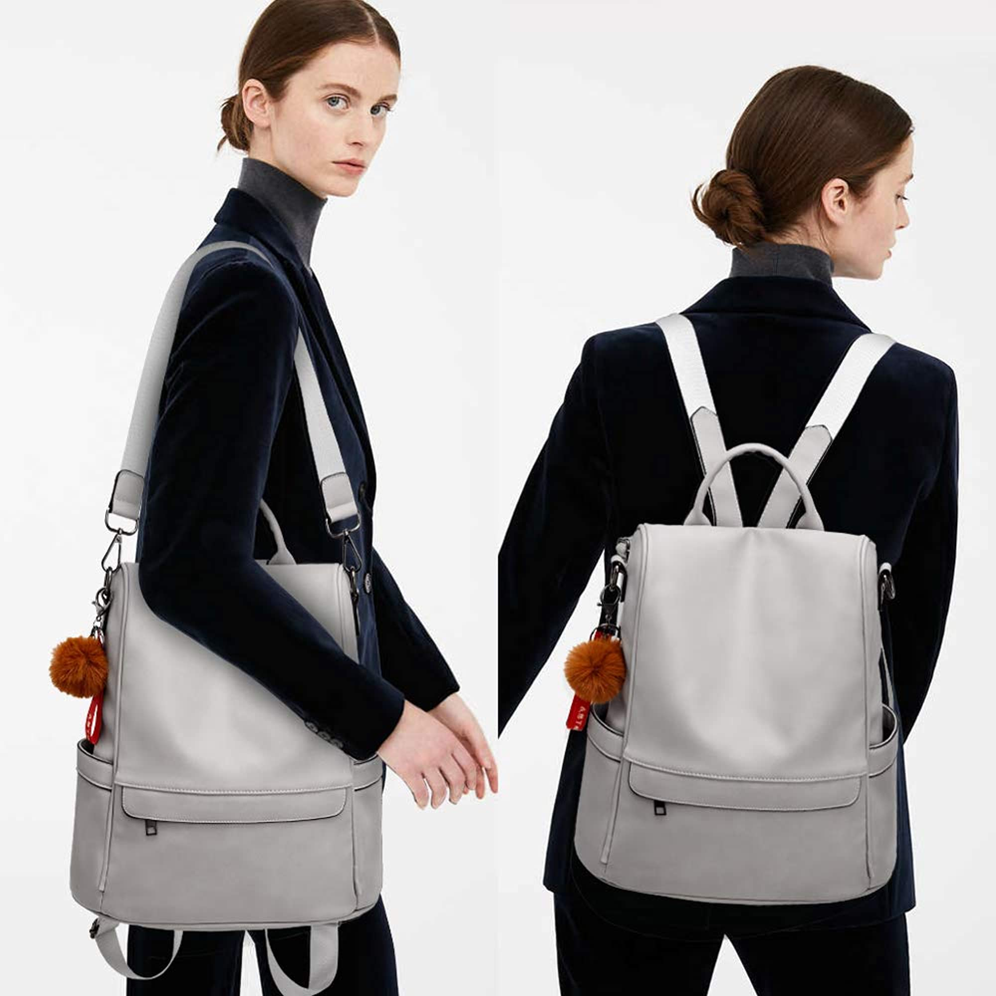 Casual Shoulder And Backpack Purse