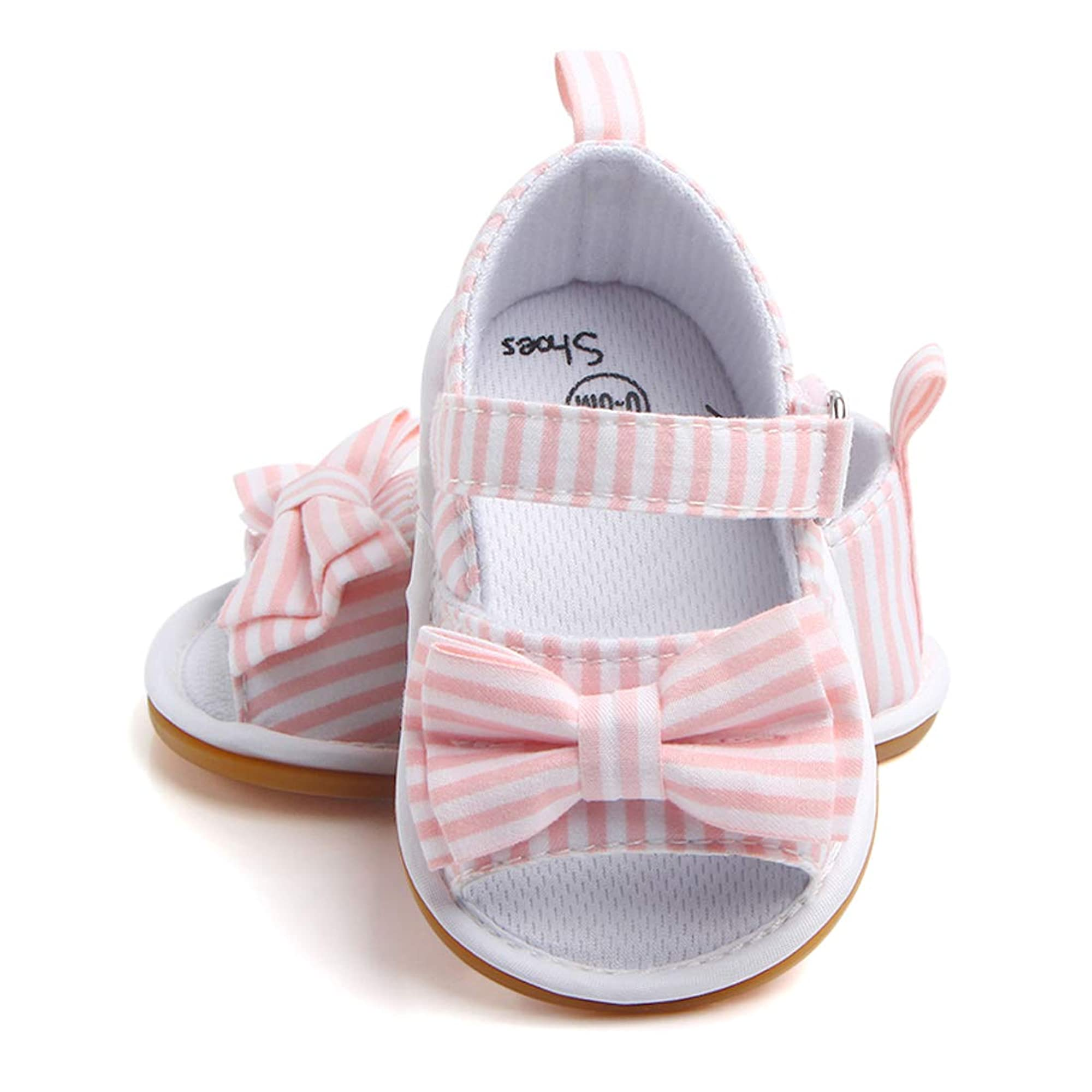 Infant Baby Girl Anti-Slip Summer Bow Sandal