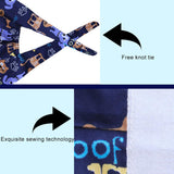 Adjustable Tie-Back Cute Printed Sweatband For Women