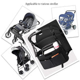Baby Stroller Caddy Bag Organizer With Cup Holder