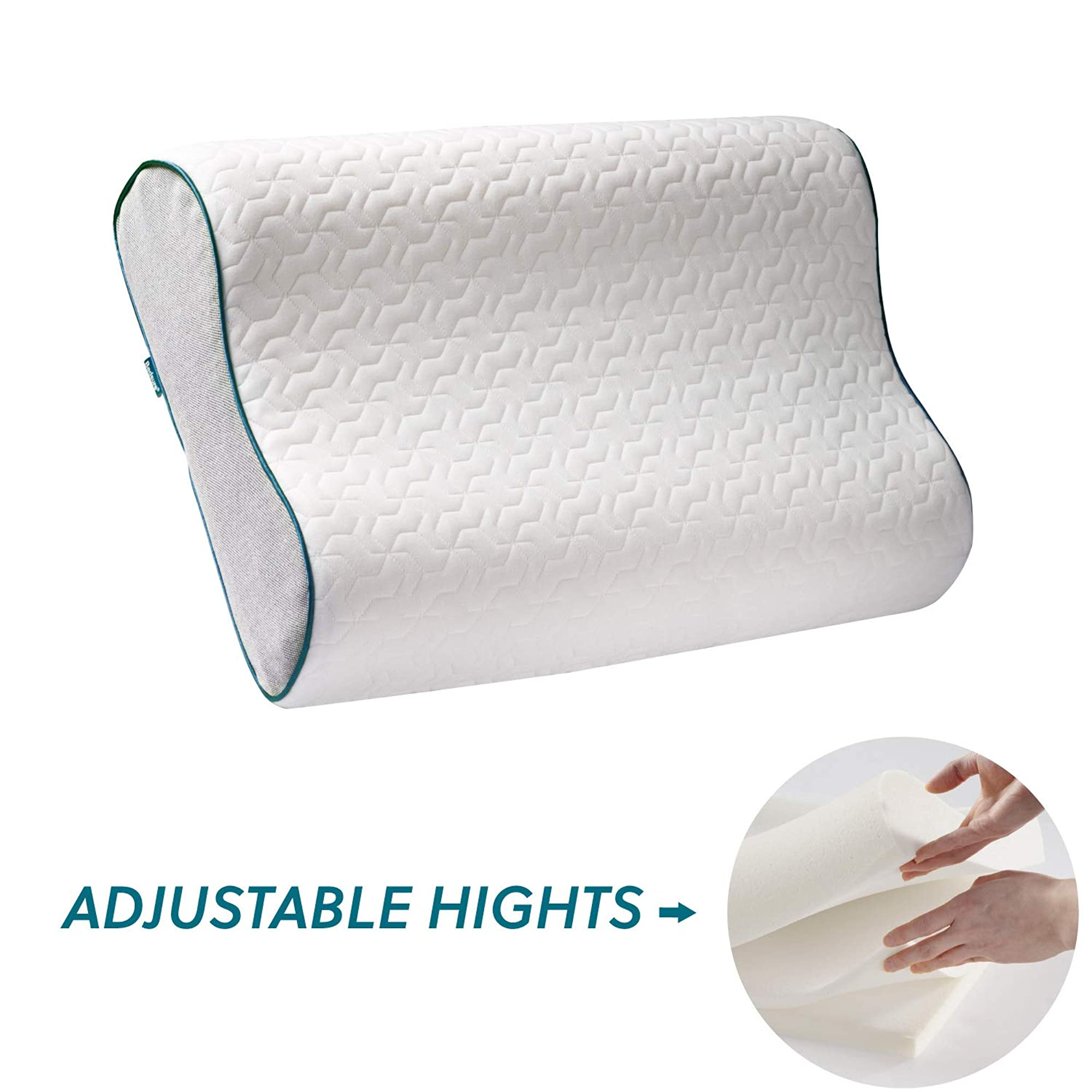 Adjustable Memory Foam Pillow For Sleeping