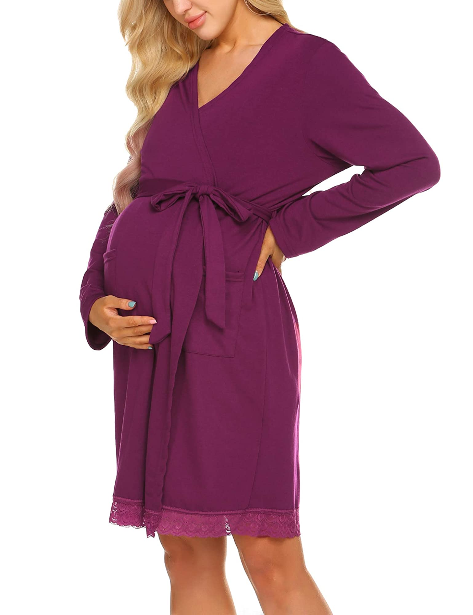 Maternity/Pregnancy/Nursing Robe For Women