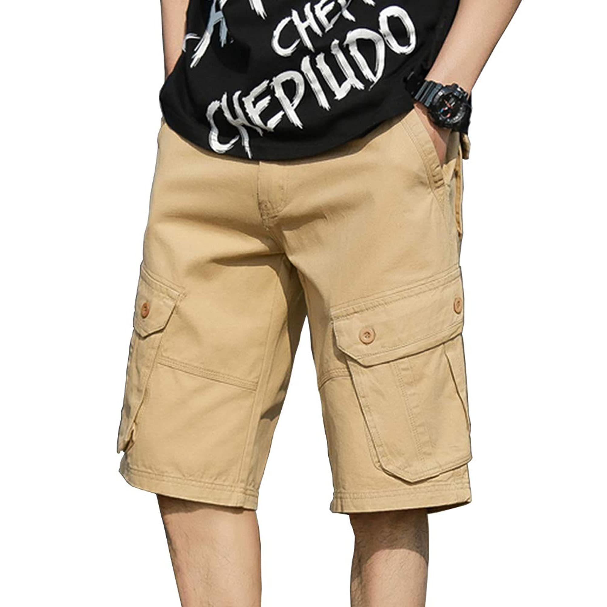 Cargo Shorts For Men With Multiple Pockets