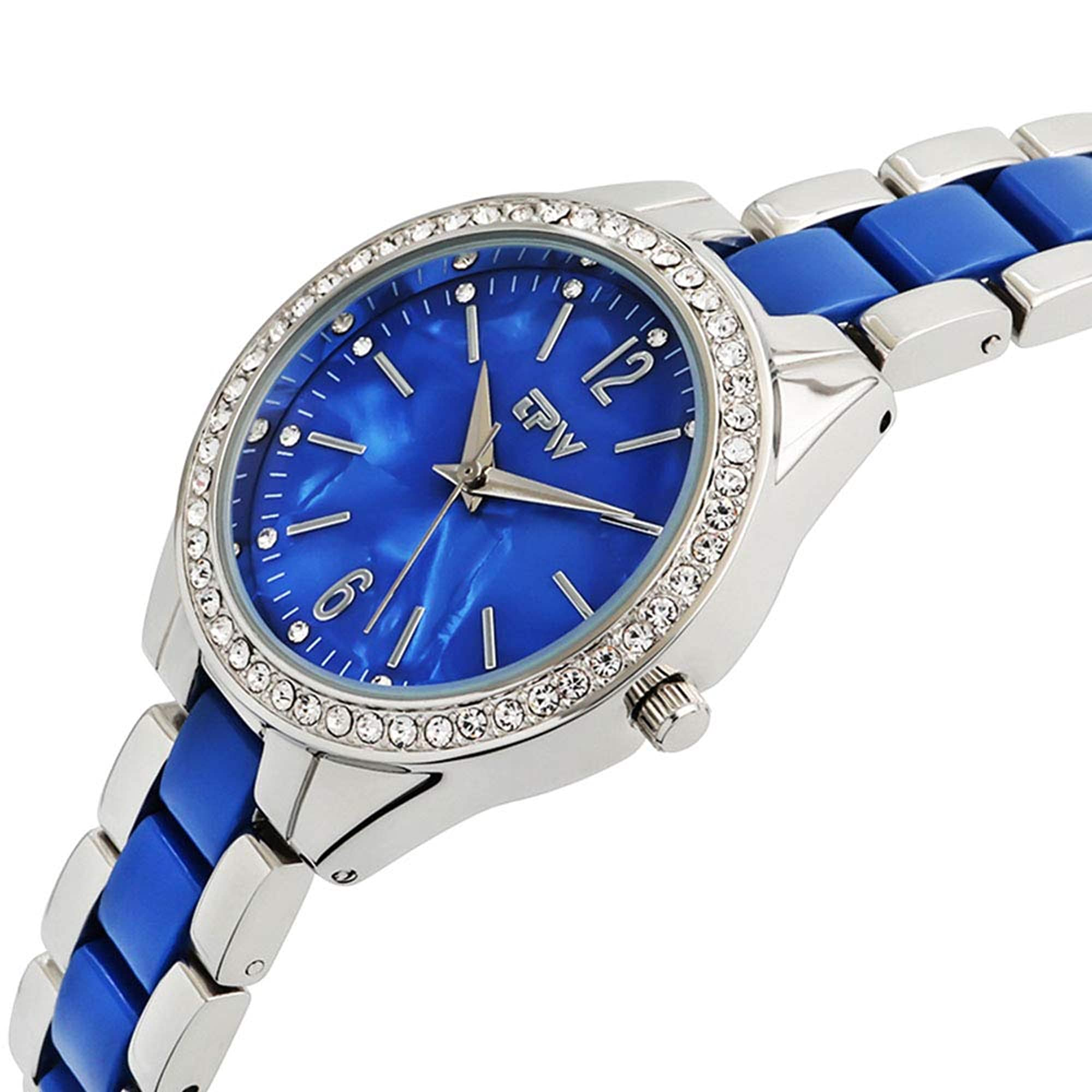 Stainless Steel Quartz Waterproof Wrist Watch