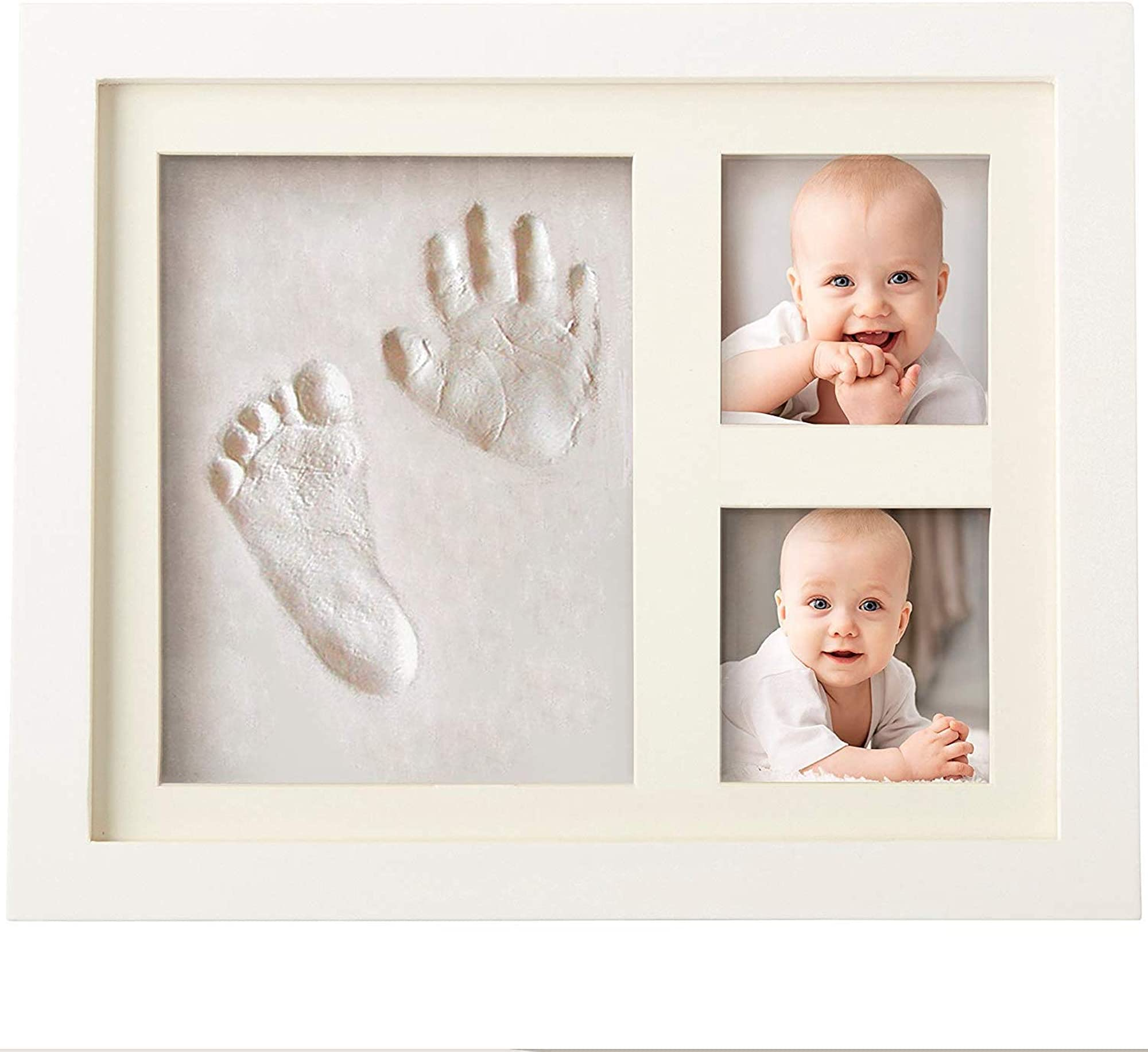 Foot And Hand Print Casting Clay Set For Babies With Keepsake Frame