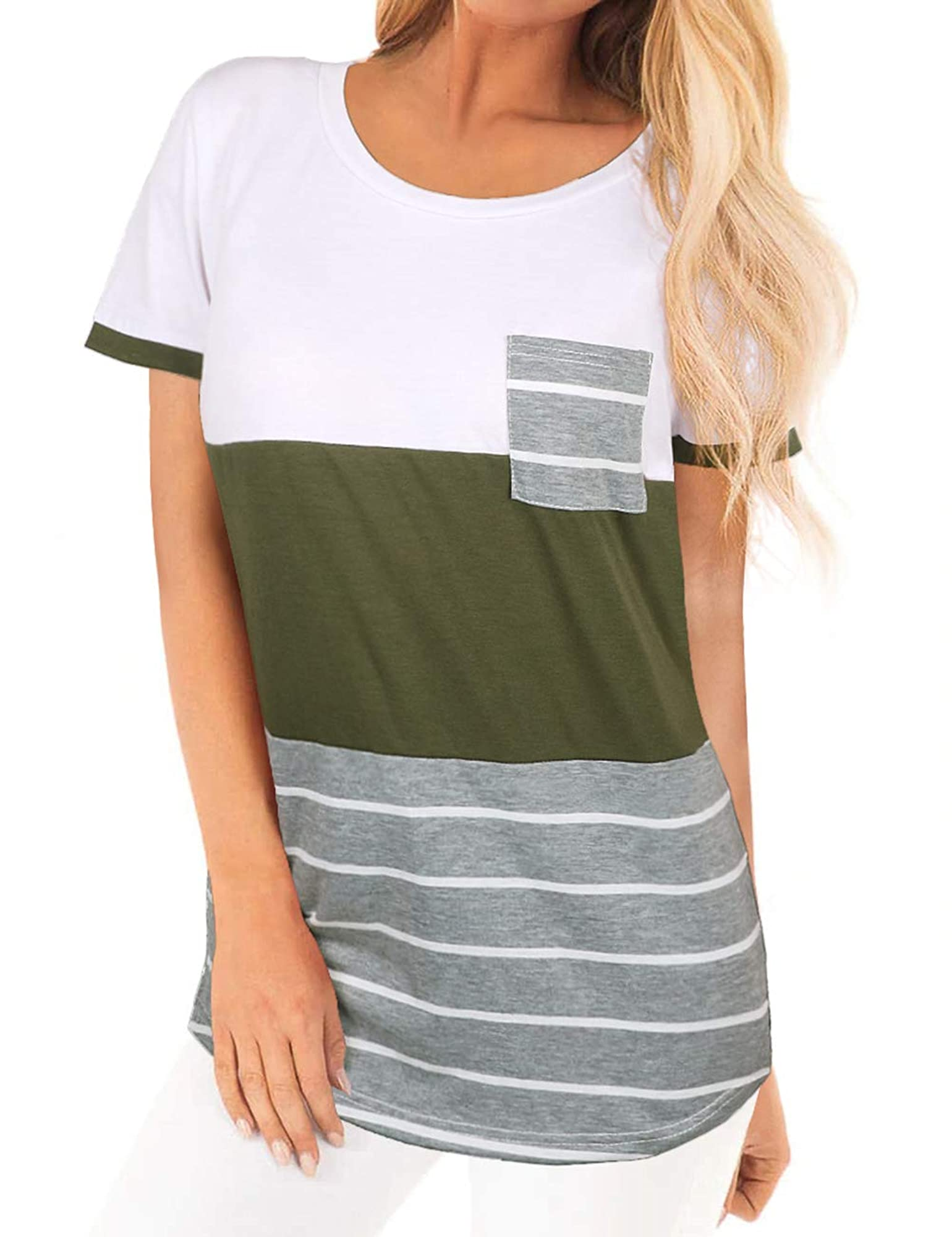 Women's Soft And Stretchable Casual T-Shirt Top