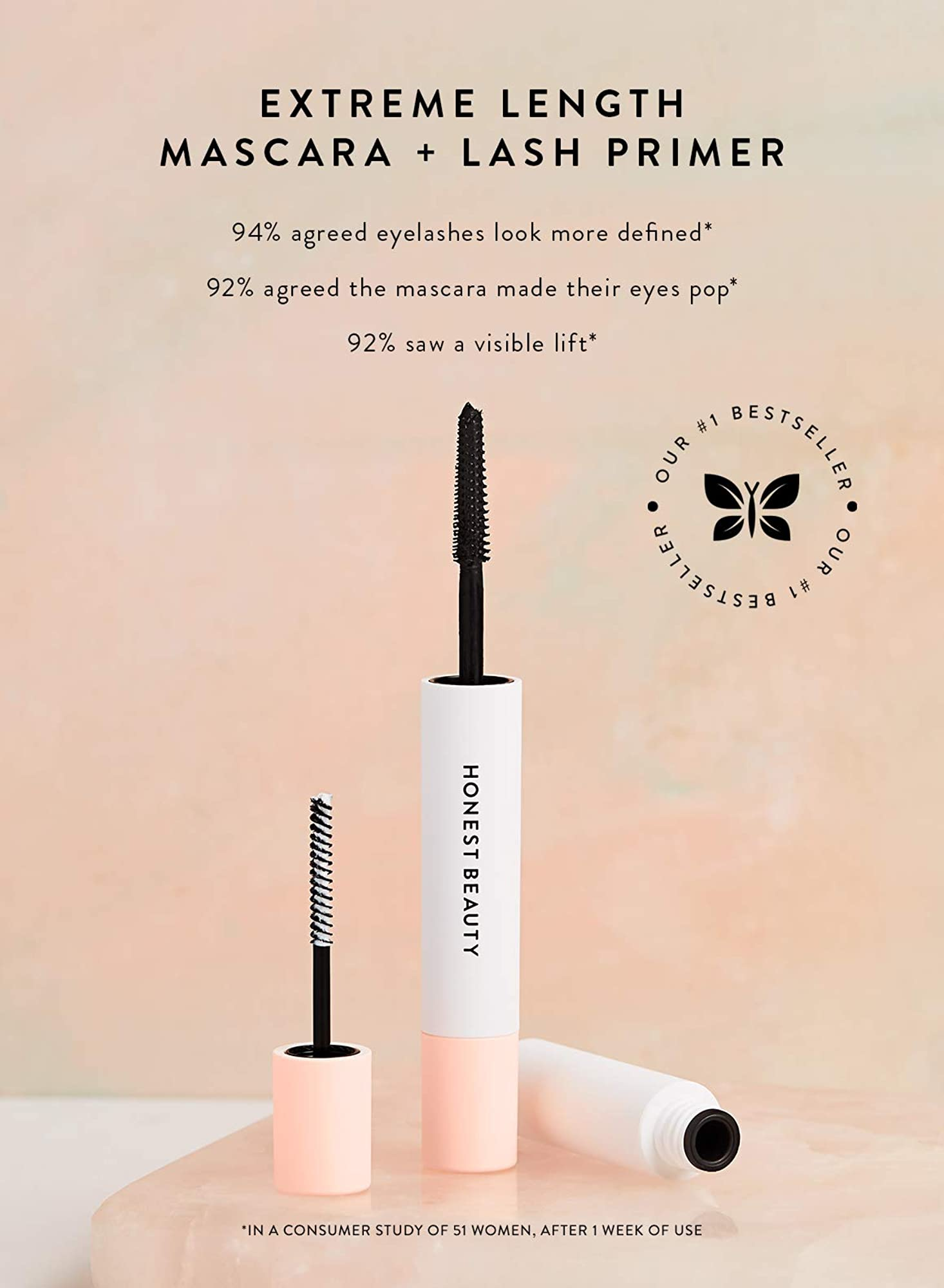 Extreme Length Mascara And Lash Primer