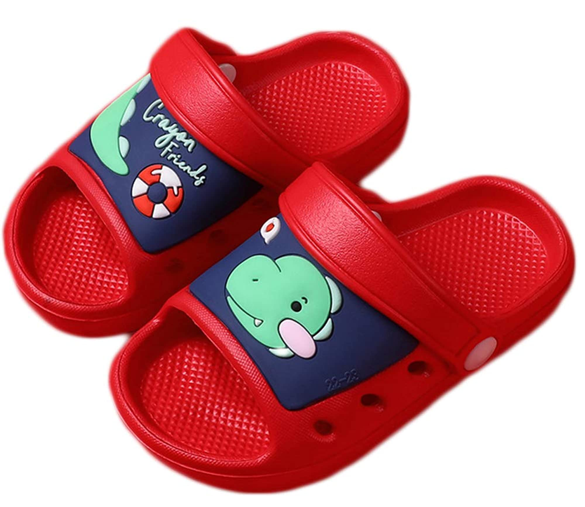 Open Toe Beach Pool Slides Clogs For Kid's