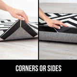 Rug Corner And Side Grippers For Hard Floors