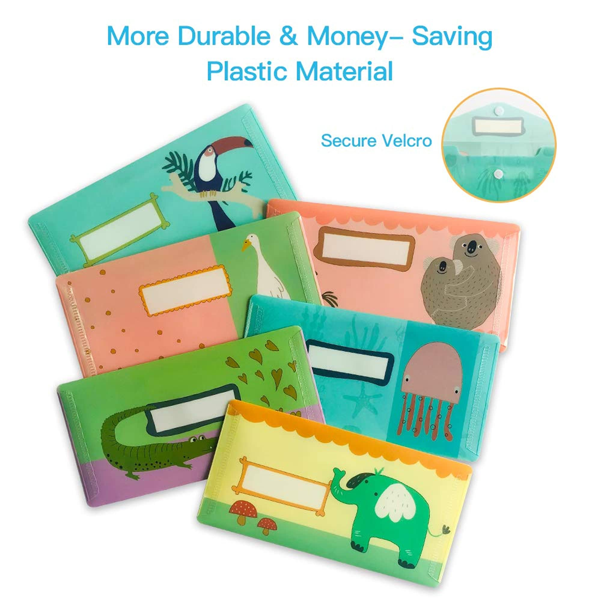 12 Pieces Of Reusable Budget Envelopes