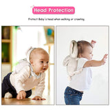 Colorful Design Baby Head Protector And Knee Pads