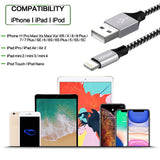 Nylon Braided Cell-Phone Charging Usb Cable