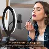 Ring Light Stand With Phone Holder