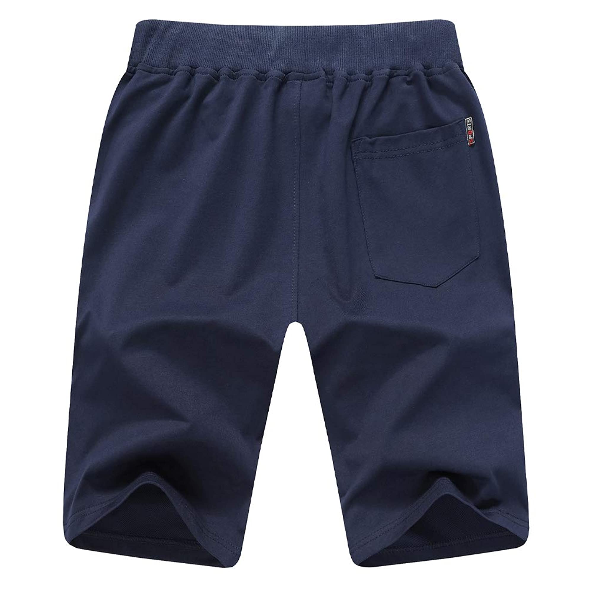 Sports Shorts For Men With Zipper Pockets