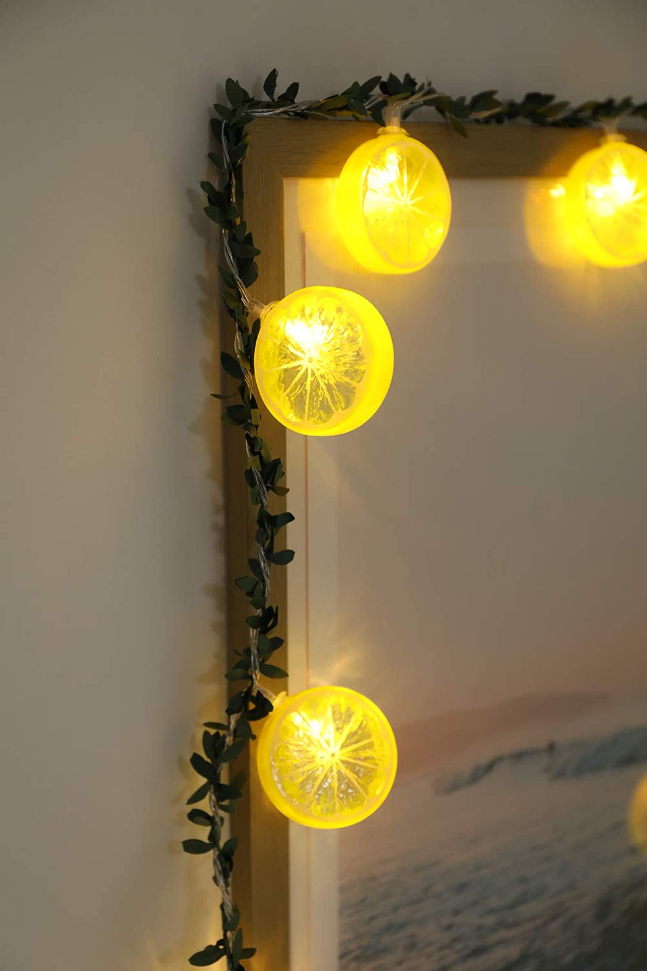 Unique Lemon Slice String Lights