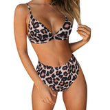 Padded Push-Up Printed Bikini Sets