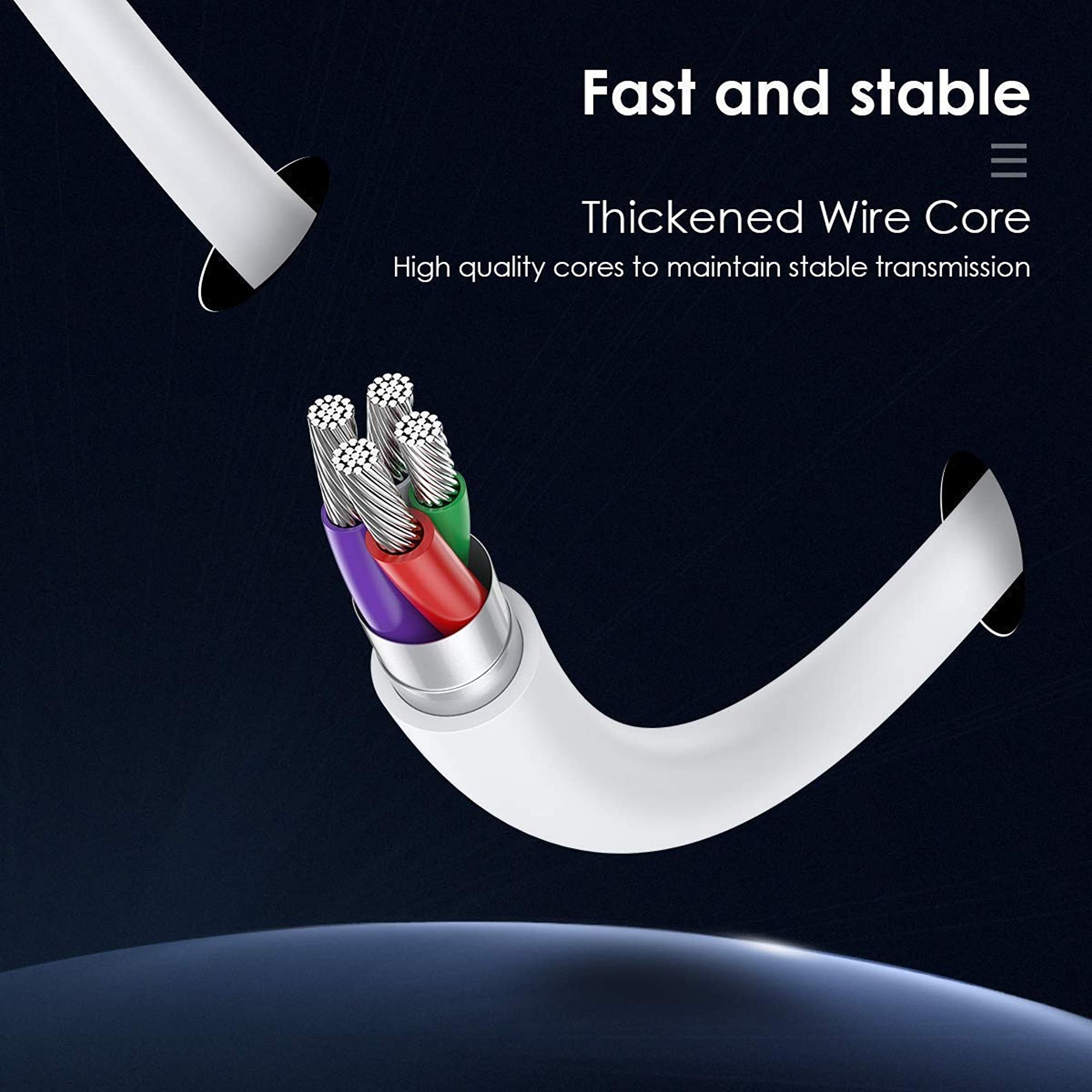Wireless Magnetic Charging Cable