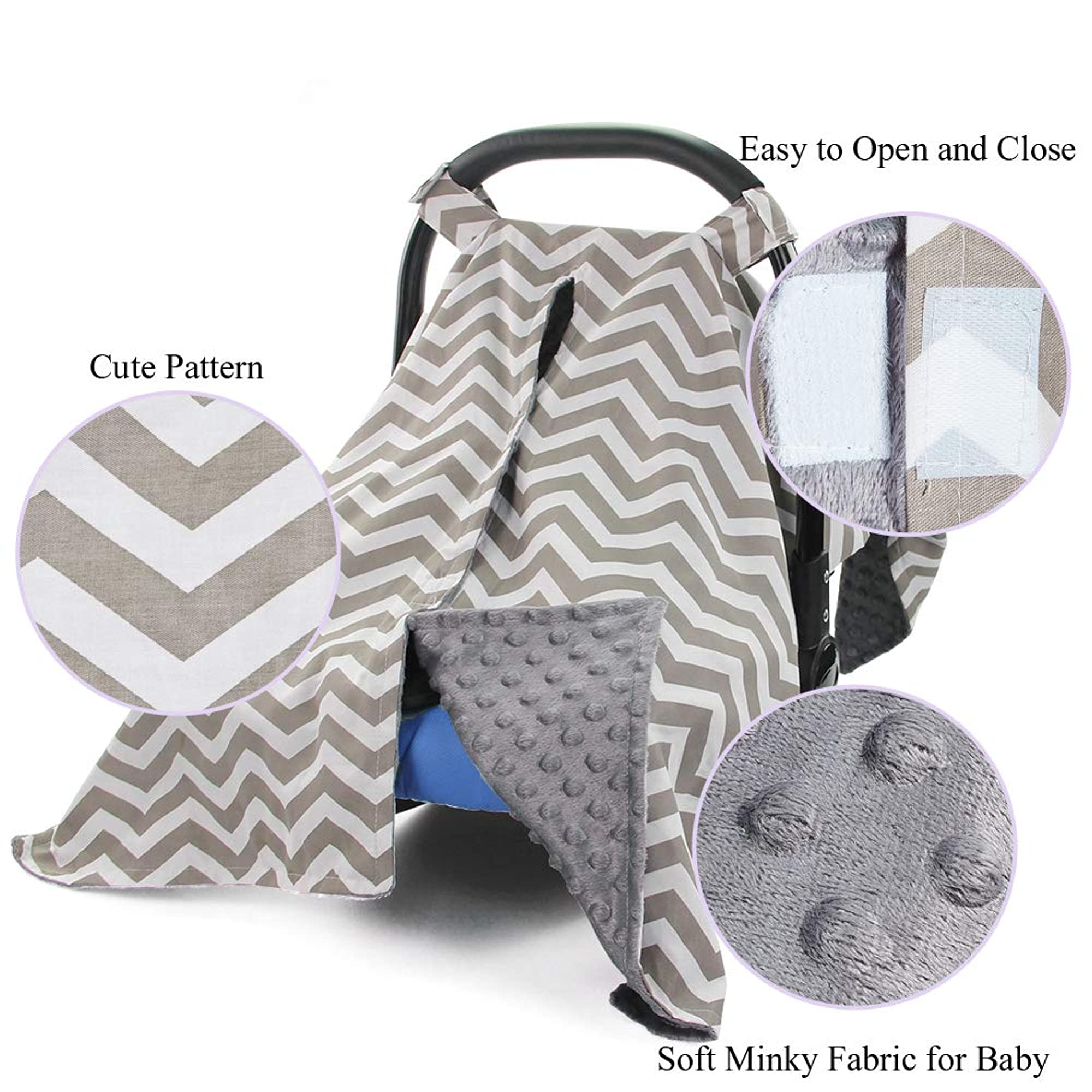Car Seat And Nursing Cover For Babies