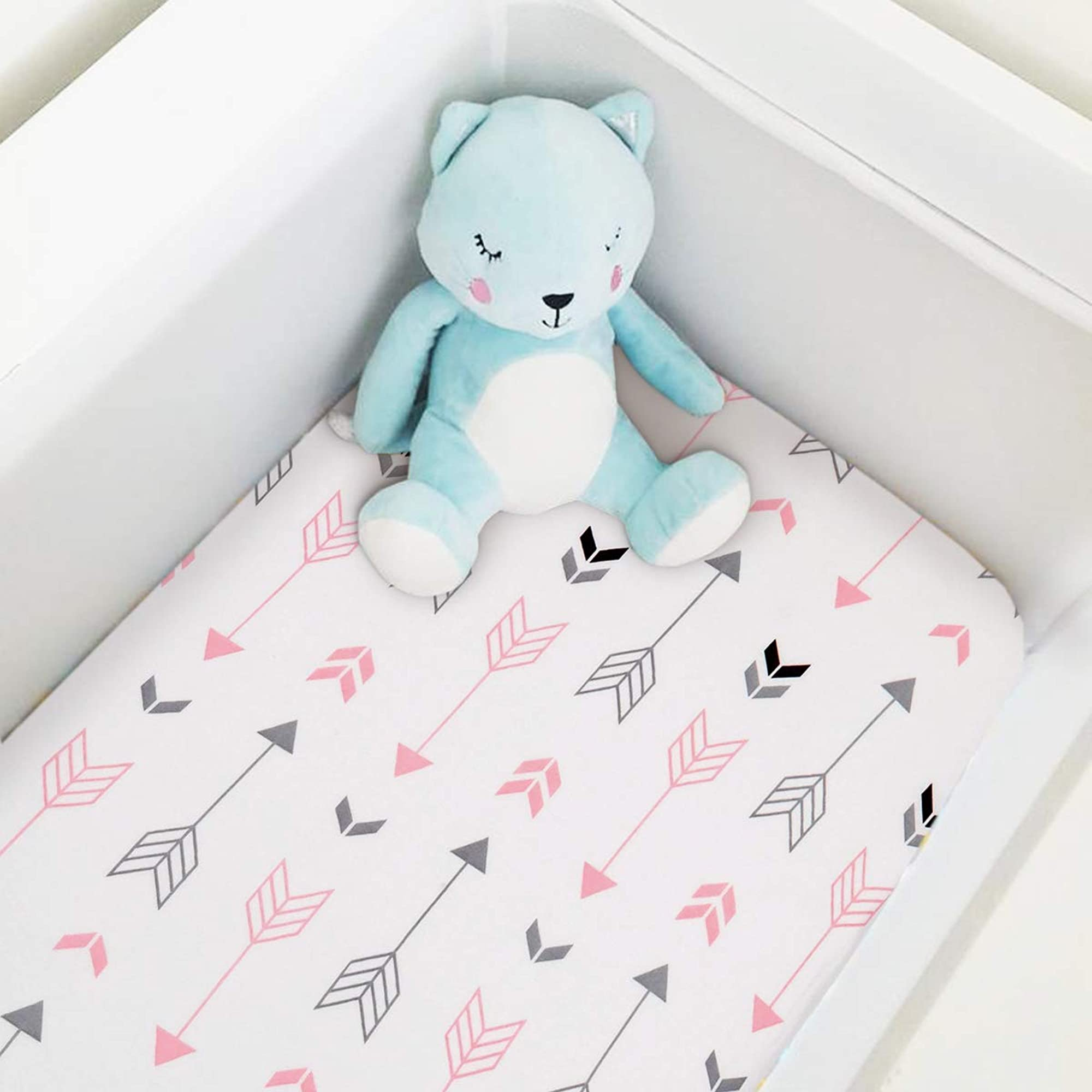 Ultra Soft Portable Crib Mattress Topper