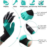 Waterproof Garden Gloves With Claw   Best Gardening Gift