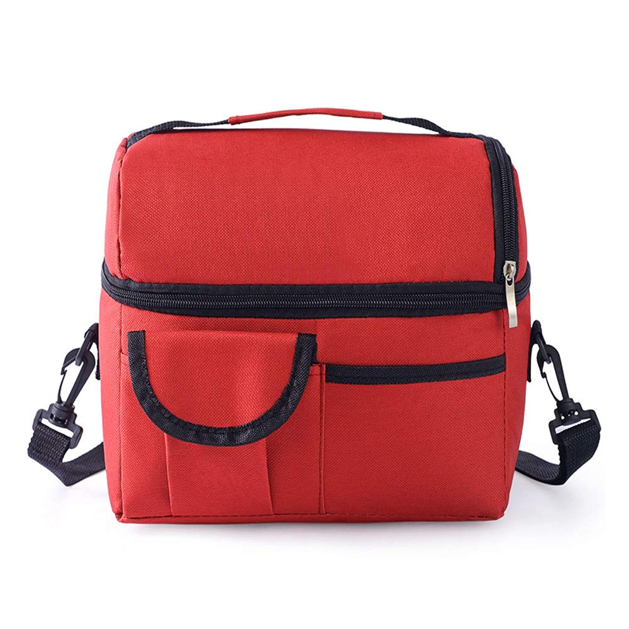 Double Compartment Leakproof Lunch Bag