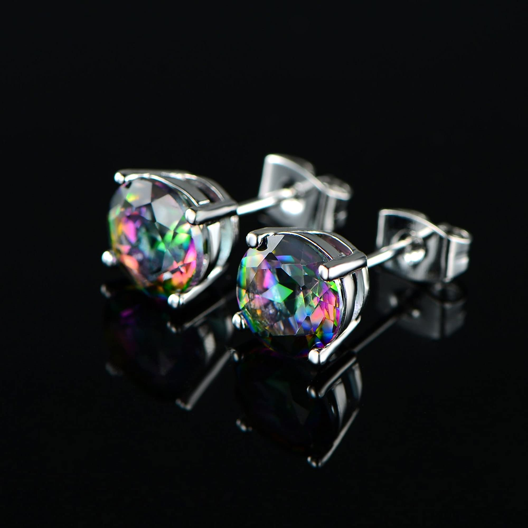 Rainbow Earring Studs For Women