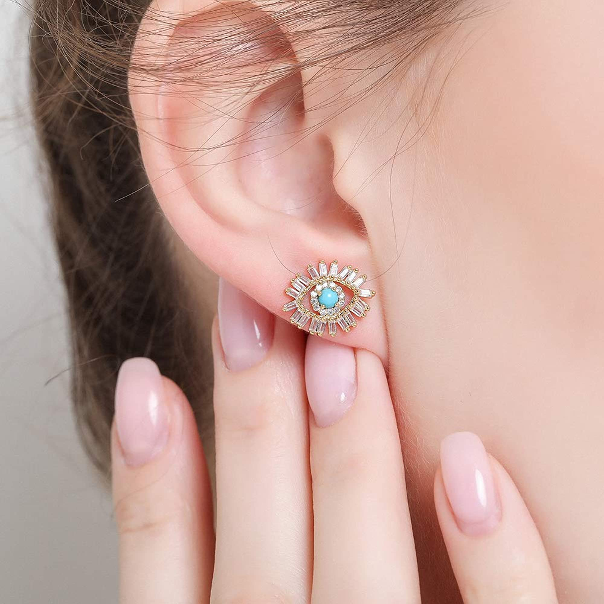 Turquoise Earring Studs For Women