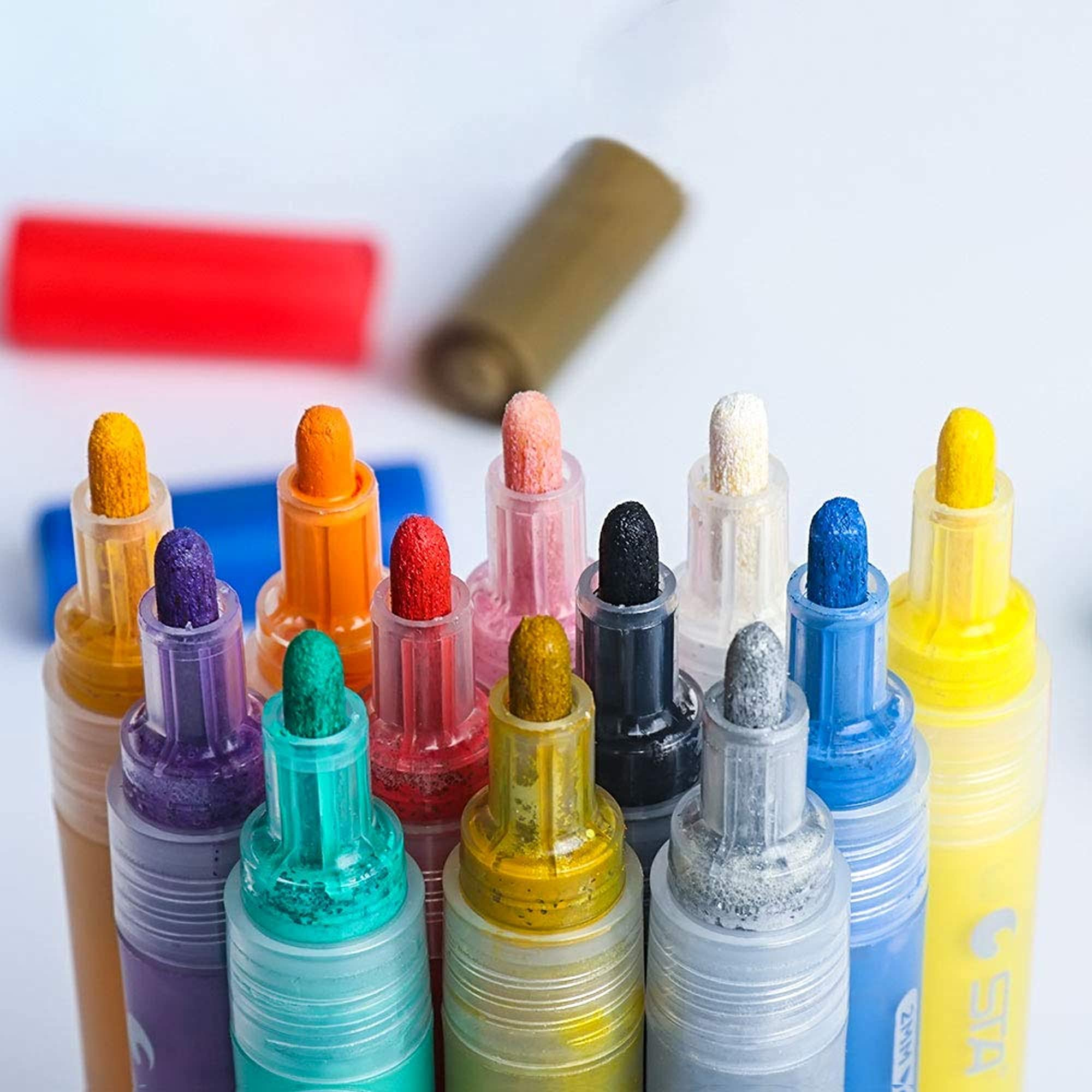 Acrylic Paint Pens ( 12 Markers)