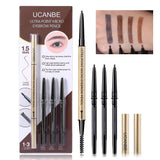 Makeup Micro Eyebrow Pencil Set