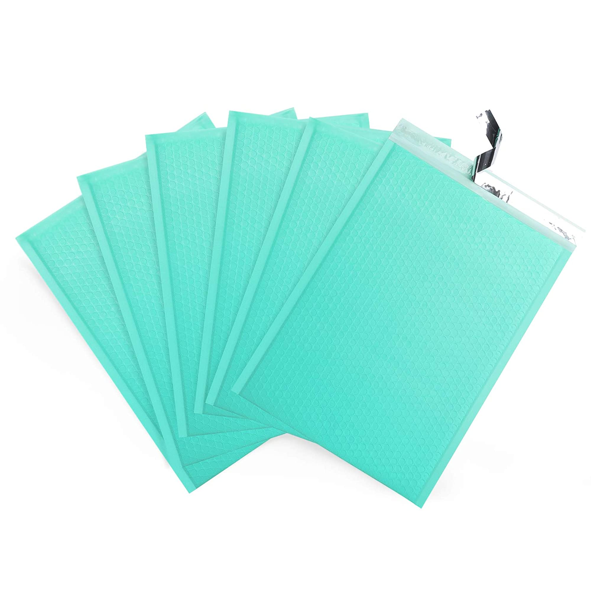 25 Pieces Of Blue Padded Envelopes