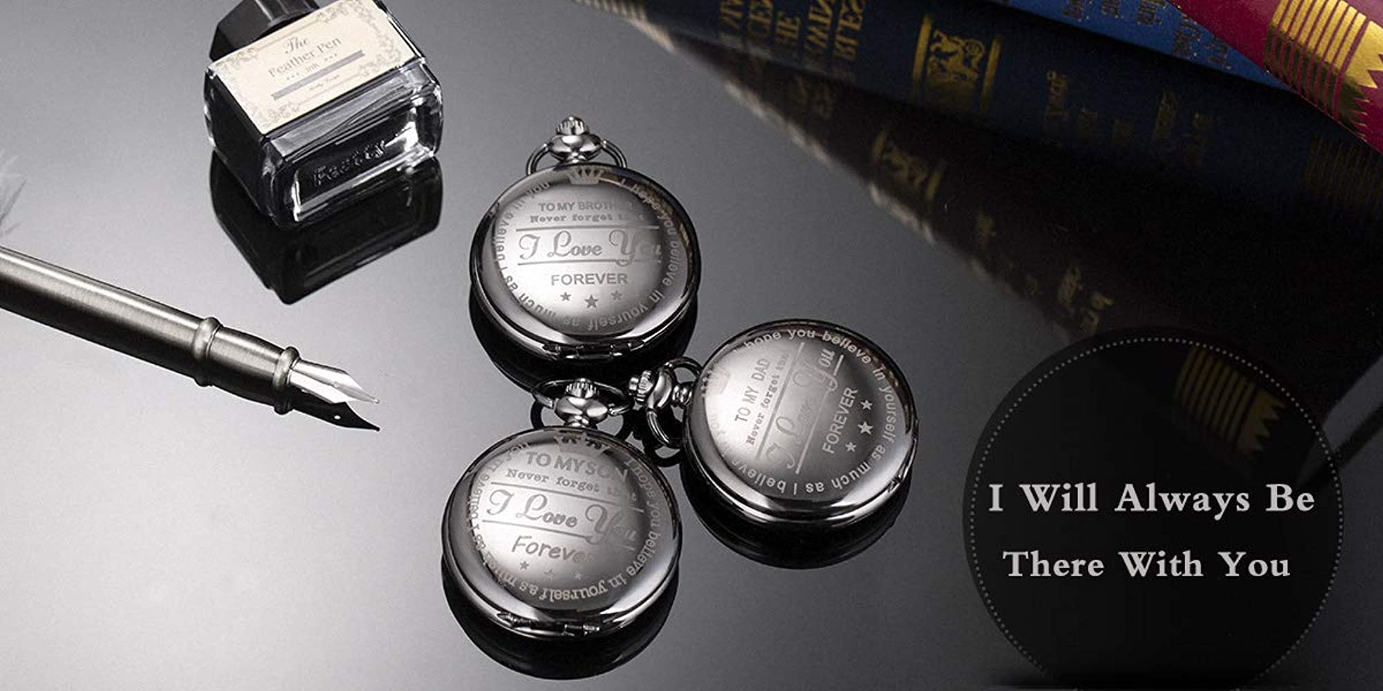Personalized Pocket Watch For Cool Dads