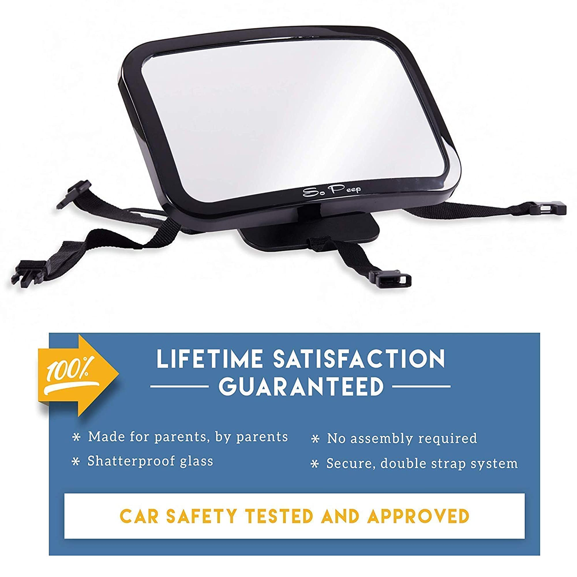 Baby Backseat Rear View Mirror For Car
